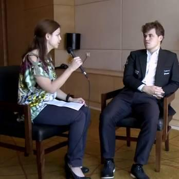 Chess TV's interview with Carlsen