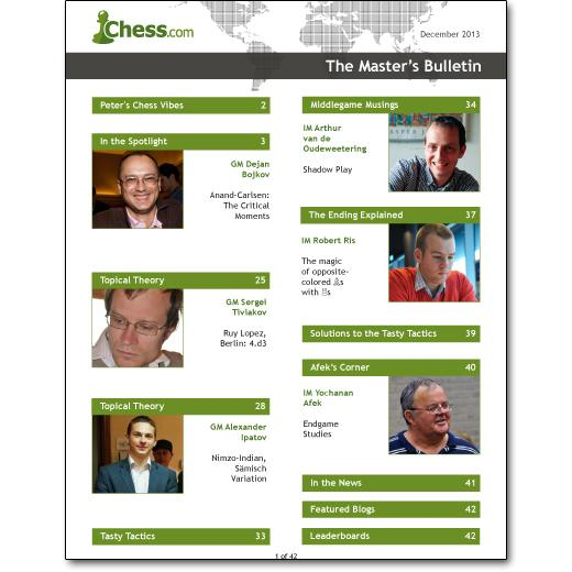 Chess.com Launches The Master's Bulletin, Again!