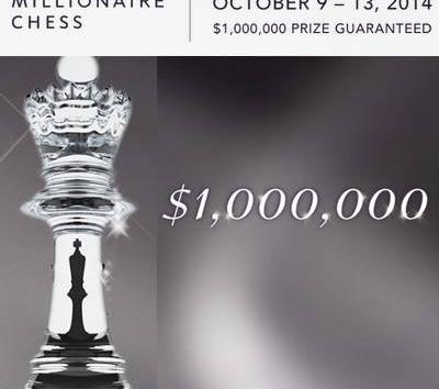 Millionaire Chess Tournament Announced: Las Vegas, October 2014
