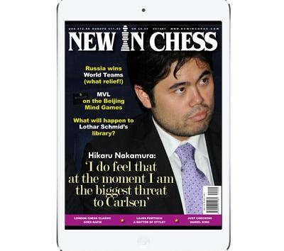 New in Chess Magazine Available For iPad