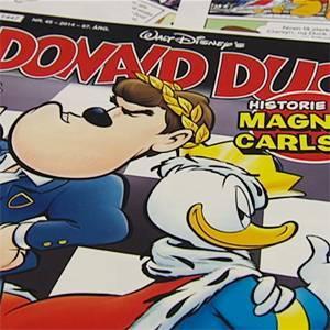 Magnus Carlsen to Feature in Norwegian Donald Duck