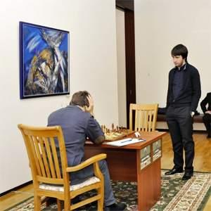 Caruana, Karjakin Winners in 7th Round Tashkent GP
