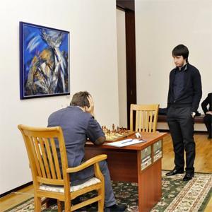 Caruana, Karjakin Winners in 7th Round Tashkent GP