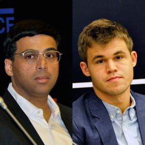 Anand To Start World Championship Match With White Pieces