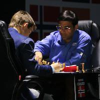 Magnus Carlsen Holds As Black In Game 10, Maintains Lead In Sochi