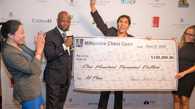 Millionaire Chess Announces Next Move
