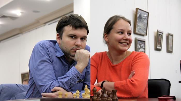 Lysyj & Gunina Winners 2014 Russian Championship