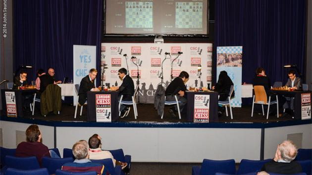 London R2: Adams Loses To Giri, Kramnik Crushes Nakamura
