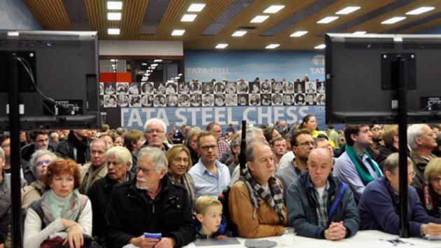 Wins For Caruana, Ivanchuk, Vachier-Lagrave In 1st Round Tata Steel