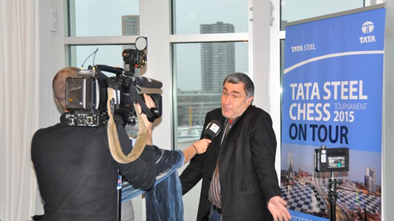 Ivanchuk Maintains Lead As Tata Steel Visits Rotterdam