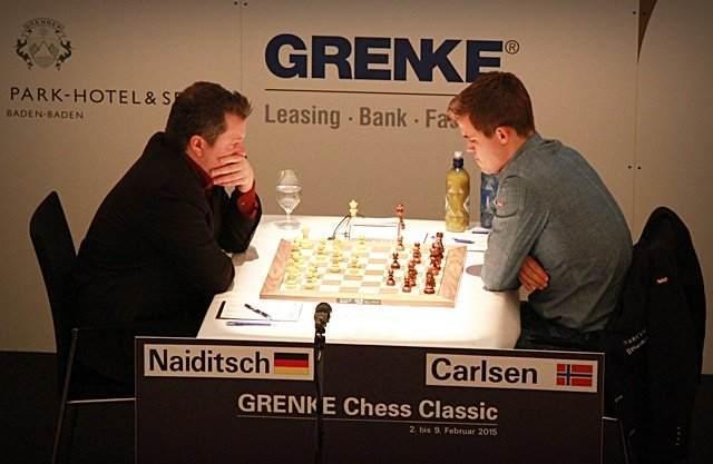 Carlsen Falters; Caruana, Adams Score In Grenke Round 3
