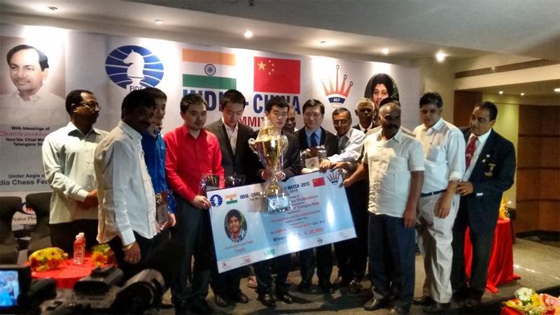 China Beats India 18-14 In Hyderabad Match