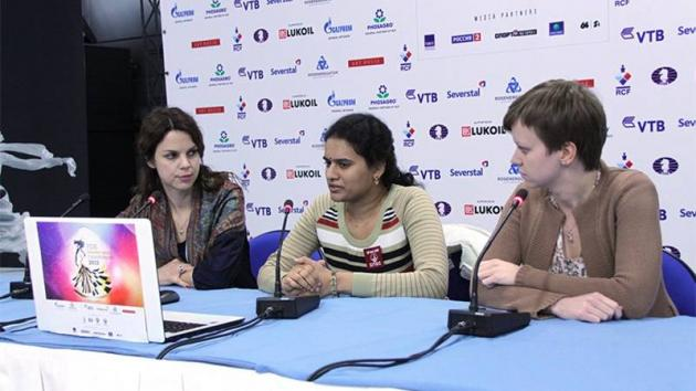 Women's World Ch. R3: Ex-World Champions Out, Humpy Still Perfect