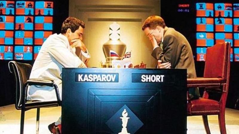 Kasparov, Short To Play 2-Day Match In St. Louis