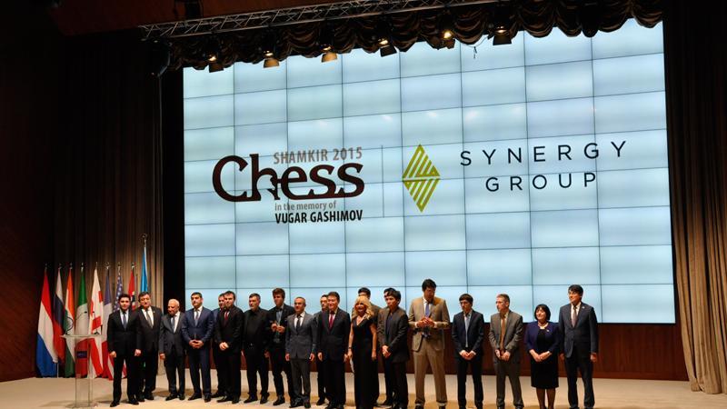 Anand-Carlsen In 1st Round Shamkir Chess