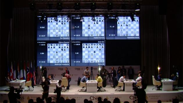 Kramnik, So Win; Carlsen Escapes In Shamkir R1