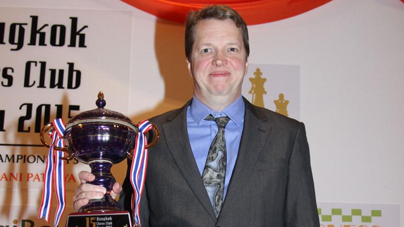 Nigel Short Wins Second Thai Open Title Despite Early Loss