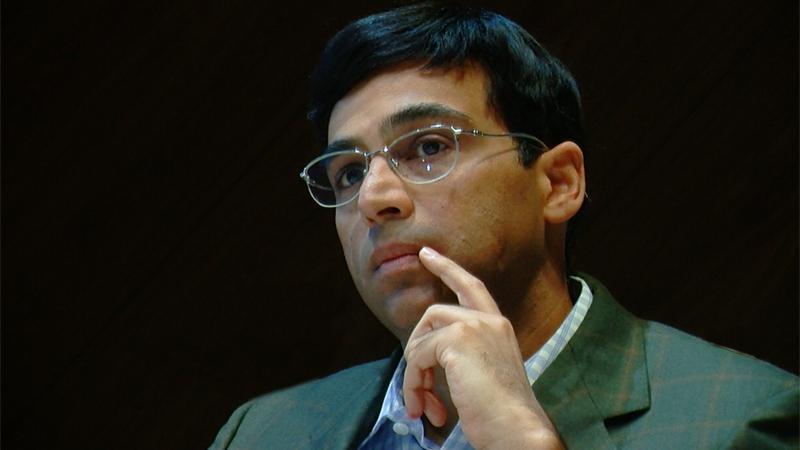 Anand Wins Again In Shamkir, Now Half-Point Behind Carlsen