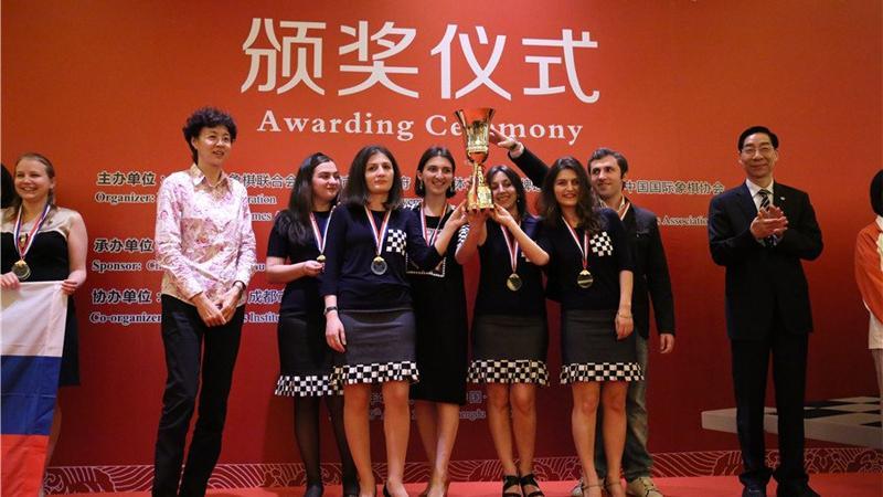 Georgia Glorious Winner In Chengdu