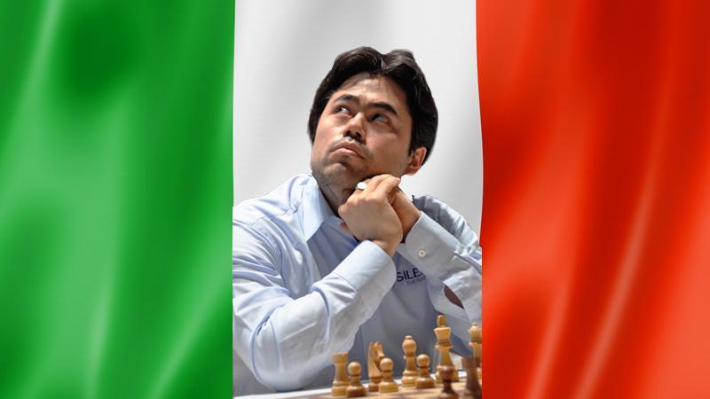 Hikaru Nakamura Last-Minute Substitute For Winning Italian Team