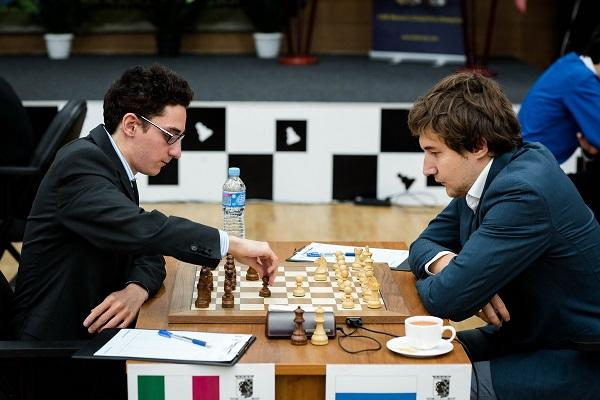 Leaders Draw, Two Rounds to go in Khanty-Mansiysk