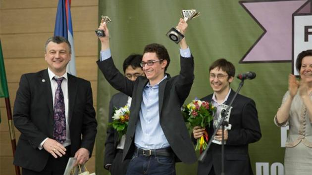 Caruana Wins 2014-2015 GP, Qualifies For 2016 Candidates With Nakamura