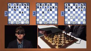 Magnus Carlsen Plays Three-Board Blindfold Simul's Thumbnail