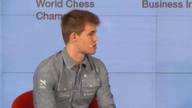 "Magnus Carlsen: ""I appreciate creating something unique"""