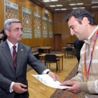 GM Asrian Wins 68th Armenian Championship