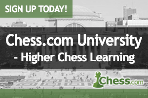 Premium Members Get Free Month Of Chess.com University