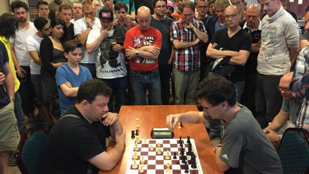"""KingLoek"" Van Wely King At Dutch Lightning Championship"