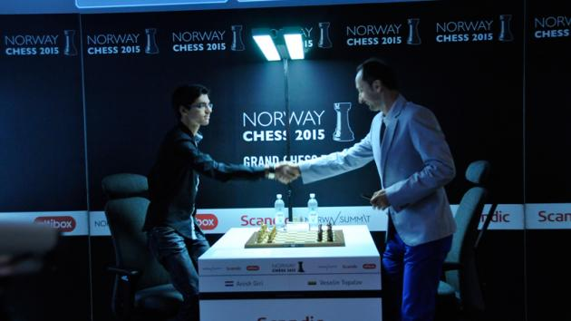 Norway Chess Not Yet Decided As Anand Wins, Topalov Loses | Update: VIDEO