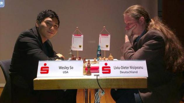 Kramnik, So Go Down In First Round Dortmund