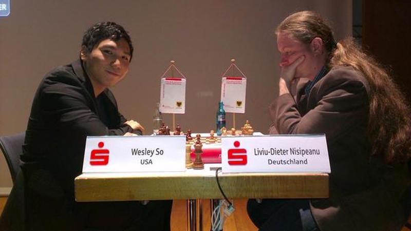 Kramnik, So Go Down In First Round Dortmund