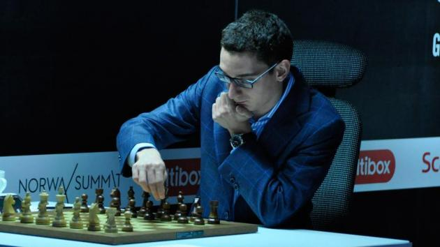 Caruana Beats Kramnik To Share Lead with Nisipeanu In Dortmund