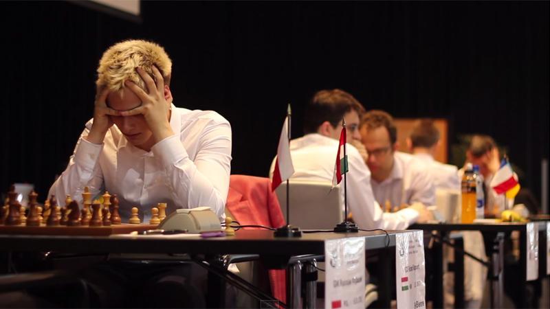 Navara Loses To Adams; Three Leaders In Biel