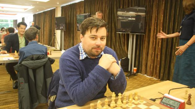 GM Hawkins Wins Final Round For British Championship