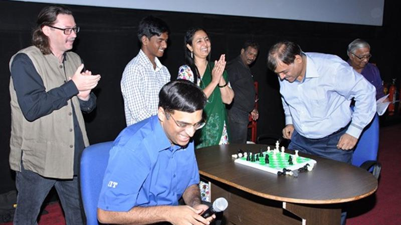 "Vishy Anand Plays Blind Opponent As ""Algorithms"" Documentary Launches"