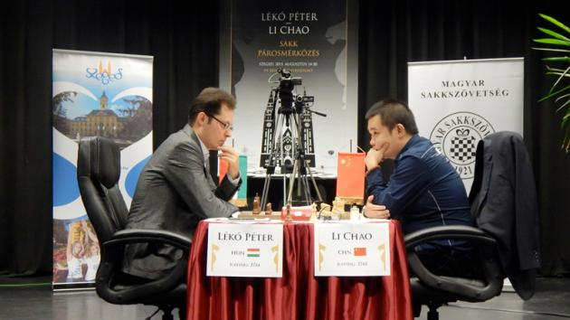 Li Chao Beats Peter Leko 4-2 In Friendly Match