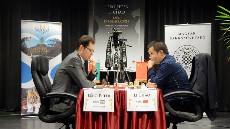 Li Chao Beats Peter Leko 4-2 In Friendly Match