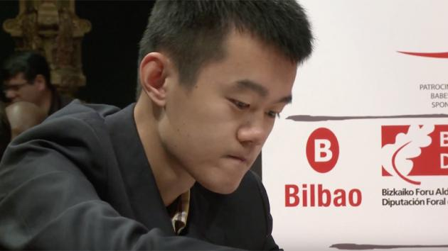 Bilbao: Ding Liren Saves R vs RB Ending After 174 Moves
