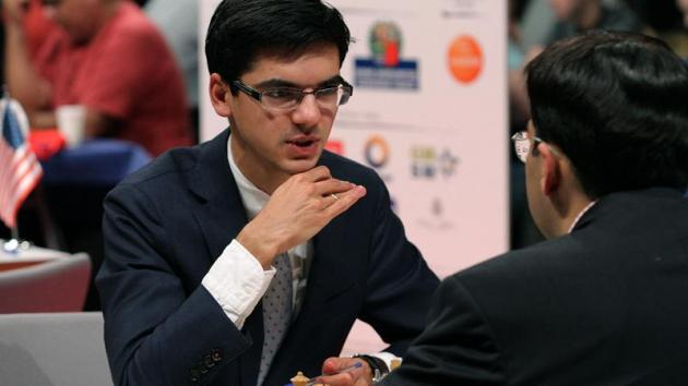 Giri Beats Anand, Catches So In Bilbao