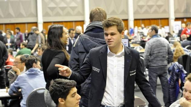 Magnus Carlsen Starts European Team Championship With A Loss