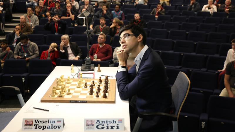 London Classic: Giri Beats Topalov With Tremendous Tactics