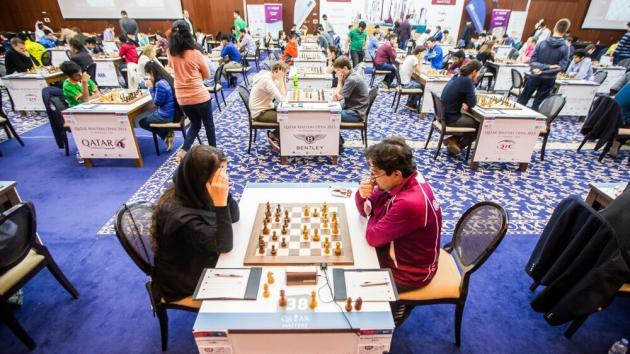 Giri Finally Draws, Carlsen Is Back, Qatari Train Logjammed