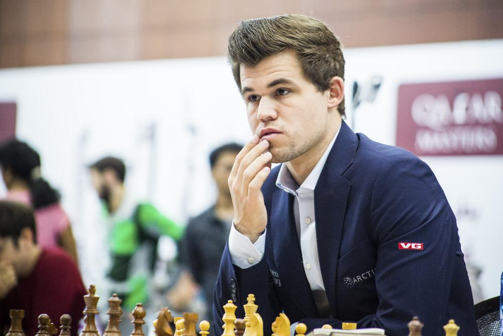 Carlsen Can't Crack Giri, Now Has Company At Top