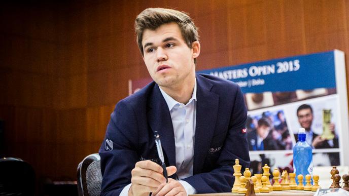 Carlsen Wins Qatar Masters