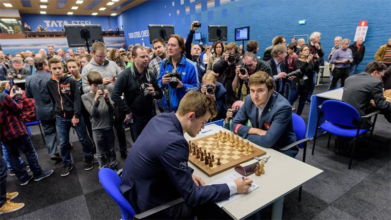 Endgame Virtuoso Navara Makes Carlsen Sole Leader In Wijk Aan Zee
