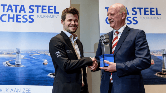 Carlsen Wins 2016 Tata Steel Masters; Adhiban 1st In Challengers