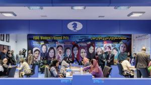 Dzagnidze, Pogonina Lead Tehran FIDE Women's Grand Prix's miniatury